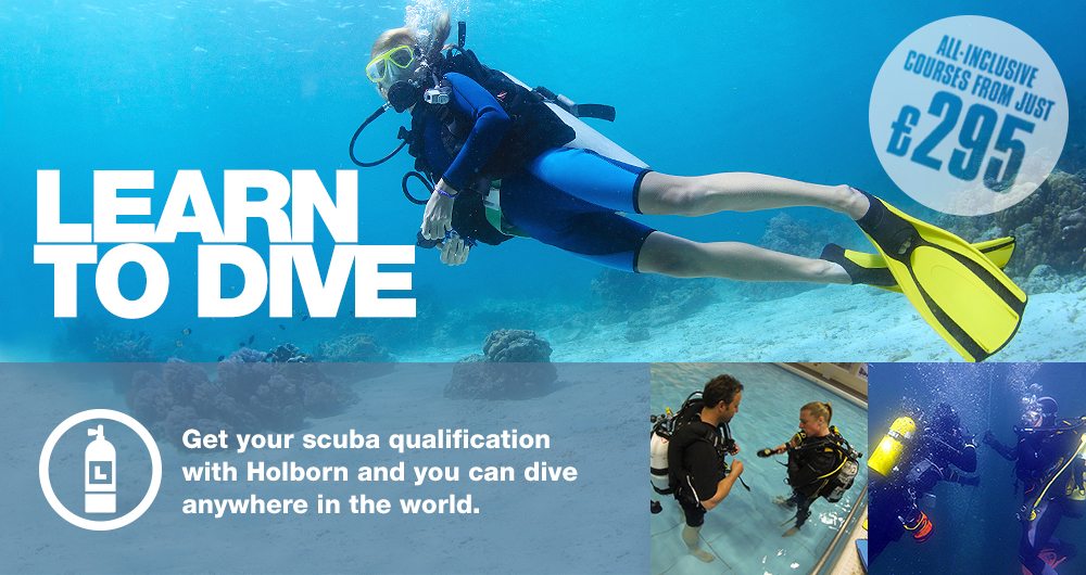 Holborn Scuba learn to dive