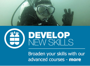 Dive training develop new skills