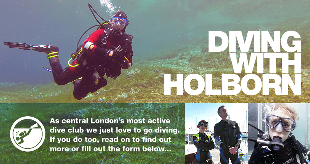 About Holborn scuba dive club